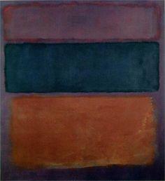 Mark Rothko, Untitled, 1963. Oil on canvas, 175.2 x 162.5 cm.