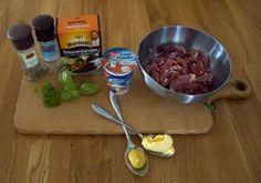Mahlzeit - Schweinegeschnetzeltes in Senf-Sauce - Die Zutaten - FemNews.de