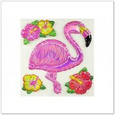 Flamingós falmatrica kislányok szobájába