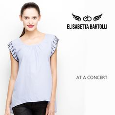 At a Concert With #Top #Embroidered #Sleeve