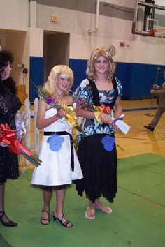Womanless pageant