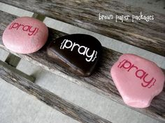 It's placed on their pillow during the day, so they will be reminded to pray at night, then at night, it goes on the floor, so they'll step on it when they wake up and remember to pray. Going to do this for my two boy's such a great idea!!