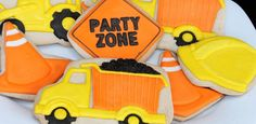 Construction Themed Birthday Party {Ideas, Decor, Styling, Cake}