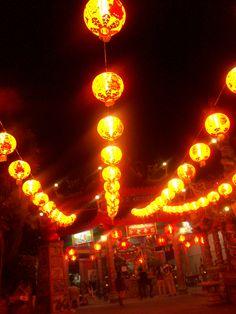 Guan Yu Shrine at  Khlong San,Bangkok