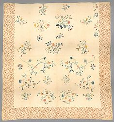 Search | The Metropolitan Museum of Art American Wings, Maker Culture, American Quilt, Embroidered Quilts, Wool Thread, Old Quilts, Chain Stitch, Quilt Top, Metropolitan Museum