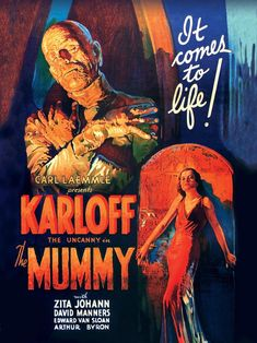Carl Laemmle, Classic Monster Movies, Classic Monsters, The Uncanny, Classic Sci Fi, Comic Books, Things To Come, Comics, Horror Movies