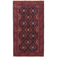 eCarpetGallery Hand-knotted Royal Baluch Rug