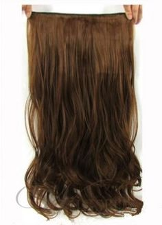 Top Quality 24inches Long  Bodywave Clip in Synthetic Hair Extension