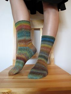 Ravelry: Dublin Bay Socks pattern by Ryan Morrissey