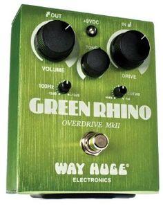 Way Huge Electronics Green Rhino Overdrive II Guitar Effects Pedal