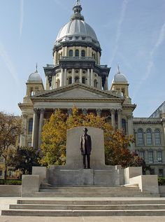 Springfield - Illinois State Capitol Building by myoldpostcards, via Flickr
