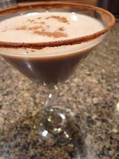 Harry Potter Themed Cocktails - Dementor's Kiss 1-1/2 ounce crème de cocoa  1 ounce vodka  1 ounce coffee liqueur  2 ounces of half and half  Cinnamon
