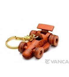 ?ormula-?Racing Car Leather Keychain(L)