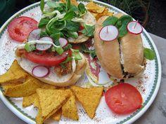 Grilled chicken sandwich by Boštjan Cigan, via Flickr