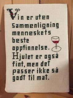 Intre Cross Stitch Embroidery, Cross Stitch Patterns, Diy And Crafts, Arts And Crafts, Friendship Quotes, Craft Projects, Letters, Knitting, Words