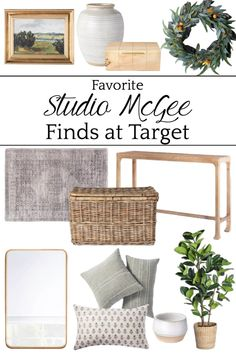 Favorite Decor from Studio McGee at Target - Bless'er House All the best picks from the studio McGee collection from Target for Capsule Decor to work in all seasons and in all sorts of styles.
