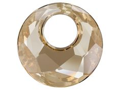 Swarovski 6041 38mm Victory Pendant Crystal Golden Shadow - Innovations Fall 2013-Winter 2014