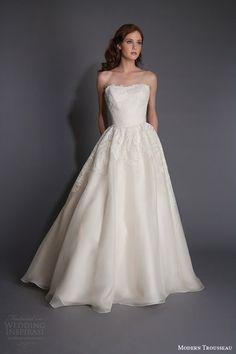 amelia sposa 2016 wedding dresses strapless sweetheart neckline beaded bodice pretty ball gown a line dress monica