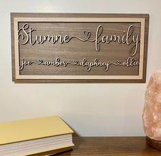 Personalized family wood sign home decor, personalized wooden sign, customized family wood sign, home wall art, custom wooden sign