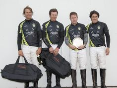 Creed won at Cirencester Park Polo Club in the picture Tomas Iriarte, a wonderful back first from the left, plus Adrian Kirby and S. Amaya