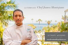 Meet Chef James Montejano the executive chef at @lavalenciahotel and our go-to for creative, fresh and luxurious gourmet food for your wedding day. Learn more www.ultimateweddingcollection.com