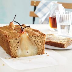Poached Pear Bread from CookingLight.com
