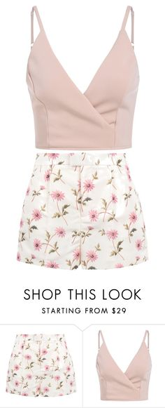 """"""":3"""" by nisamahend on Polyvore featuring RED Valentino"""