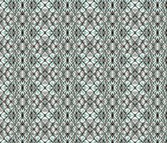 Winter Kaleidoscope 2 fabric by amyvail on Spoonflower - custom fabric