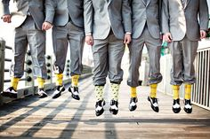The ultimate wedding socks guide. Why wedding socks are a great wedding gift or favor & all the options. By My Favourite Socks, the UKs leading sock company Silly Socks, Crazy Socks, Fun Socks, Awesome Socks, Groomsmen Socks, Groom And Groomsmen, Wedding Pics, Wedding Trends, Wedding Ideas