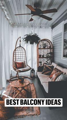 Small Balcony Decor, Small Patio, Balcony Decoration, Balcony Ideas, Balcony Design, Patio Ideas, Porch Ideas, Diy Patio, Wood Patio