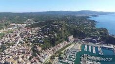 Drone Barcelona - Sitges - Blanes - Arenys de Mar Catalunya - YouTube