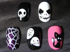 I found 'Tim Burton's Nightmare before Christmas Nails' on Wish, check it out!