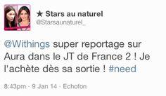"""★ Stars au naturel (twitter.com/Starsaunaturel_) a tweeté : """" Withings super reportage sur Aura dans le JT de France 2 ! Je l'achète dès sa sortie ! #need """" En savoir plus : http://www.withings.com/en/aura"""
