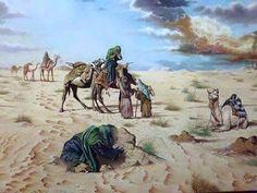 Battle Of Karbala, Imam Hussain Wallpapers, Hiding Feelings, Hussain Karbala, Karbala Photography, Islamic Paintings, Shia Islam, Muharram, Islamic Art Calligraphy