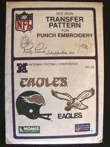 Vtg NFL Philadelphia Eagles Transfer Pattern Embroidery $7.99