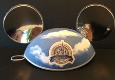 Disney-World-Park-Mickey-Mouse-Ears-Hat-Year-Of-Million-Dreams-Blue-Silver-Cap