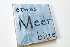 * Do you love the sea? Then this wooden sign fits perfectly to you, because this ., Do you love the sea? Then this wooden sign fits you perfectly, because this sign reminds you of your next vacation. A sign the holiday mood and good. Christmas Crafts To Make, Easy Crafts For Kids, Diy For Kids, Sell Diy, Diy Crafts To Sell, Holiday Mood, Dollar Store Crafts, Diy Craft Projects, Wooden Signs