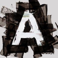 다음 @Behance 프로젝트 확인: \u201cPainted Typography\u201d https://www.behance.net/gallery/40543895/Painted-Typography