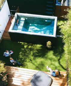 """1,270 Likes, 22 Comments - Inside Out (@insideoutmag) on Instagram: """"A raised pool helps centre this neat backyard space in our September cover home. See more winning…"""""""