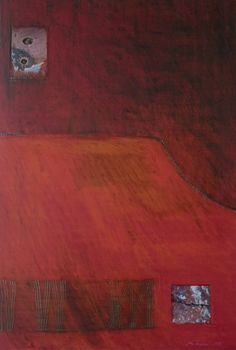 Åse Margrethe Hansen/Into the Red, 2010. Mixed media on paper