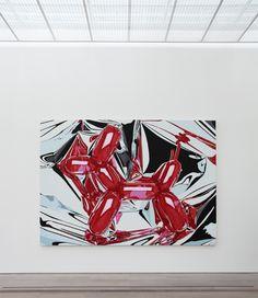 'Balloon Dog' by Jeff Koons Harvey Milk, Oldenburg, Andy Warhol, Salvador Dali, Jeff Koons Art, Kitsch, Basel, Candy Art, Eye Candy