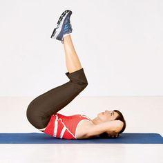 abdominal reverso - exercícios para barriga