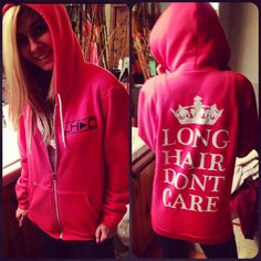 Keep Calm and Press play!  Long Hair Don't Care  LHDC.com