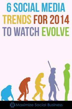 6 Social Media Trends for 2014 to Watch Evolve via @ivordavies59. #socialmedia #socialmediatrends