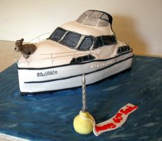 How To Make A Boat Cake | Fishing Boat Cake Decorations