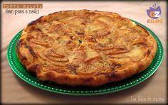 Torta salata con pere e zola Abbracci vi aspetto sul mio blog LA RICA IN CUCINA http://blog.giallozafferano.it/ricaincucina/torta-salata-con-pere-e-zola/