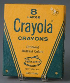 large crayons in elementary school