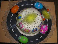 Spring Easter bonnet - Easter bonnets for boys - Netmums Boys Easter Hat, Easter Bonnets For Boys, Easter Hat Parade, Crazy Hat Day, Crazy Hats, Spring Hats, Easter Activities, Crochet Baby Hats, Easter Crafts