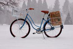 Snowy bike!