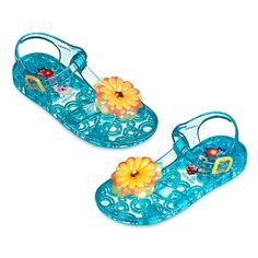 Anna and Elsa Jelly Sandals for Kids | Disney Store